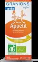 Granions Enfant Appétit Sirop Poire Fl/125ml à Moirans