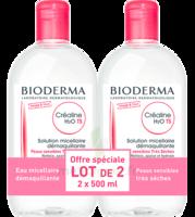 Crealine Ts H2o Solution Micellaire Sans Parfum Nettoyante Apaisante 2fl/500ml à Moirans