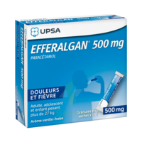 Efferalgan 500 Mg Glé En Sachet Sach/16 à Moirans