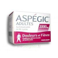 ASPEGIC ADULTES 1000 mg, poudre pour solution buvable en sachet-dose 20 à Moirans