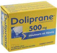 Doliprane 500 Mg Poudre Pour Solution Buvable En Sachet-dose B/12 à Moirans