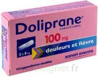 Doliprane 100 Mg Suppositoires Sécables 2plq/5 (10) à Moirans