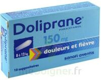 Doliprane 150 Mg Suppositoires 2plq/5 (10) à Moirans