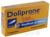 DOLIPRANE 200 mg Suppositoires 2Plq/5 (10) à Moirans