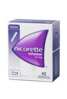 NICORETTE INHALEUR 10 mg Cartouche p inh bucc inhalation buccale B/42 à Moirans