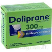 Doliprane 300 Mg Poudre Pour Solution Buvable En Sachet-dose B/12 à Moirans