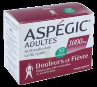 ASPEGIC ADULTES 1000 mg, poudre pour solution buvable en sachet-dose 30 à Moirans