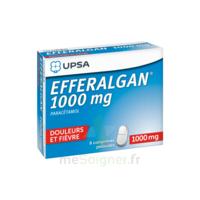 Efferalgan 1000 mg Comprimés pelliculés Plq/8 à Moirans