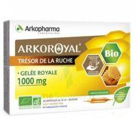 Arkoroyal Gelée Royale Bio 1000 Mg Solution Buvable 20 Ampoules/10ml à Moirans