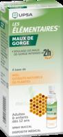 LES ELEMENTAIRES Solution buccale maux de gorge adulte 30ml à Moirans