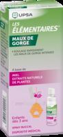 LES ELEMENTAIRES Spray buccal maux de gorge enfant Fl/20ml à Moirans