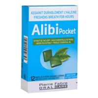 Pierre Fabre Oral Care Alibi Pocket 12 Pastilles à Moirans