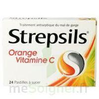 STREPSILS ORANGE VITAMINE C, pastille à Moirans