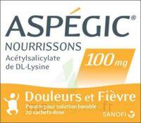 ASPEGIC NOURRISSONS 100 mg, poudre pour solution buvable en sachet-dose à Moirans