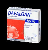 DAFALGAN 500 mg Comprimés effervescents sécables Film/16 à Moirans