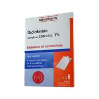 DICLOFENAC RATIOPHARM CONSEIL 1 %, emplâtre médicamenteux à Moirans