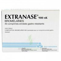 Extranase 900 Nk, Comprimé Enrobé Gastro-résistant à Moirans
