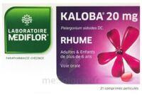 KALOBA 20 mg Comprimé pelliculé Plq/21 à Moirans