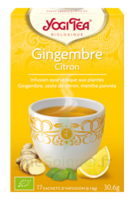 Yogi Tea Gingembre Citron à Moirans