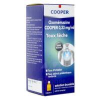 OXOMEMAZINE H3 SANTE 0,33 mg/ml SANS SUCRE, solution buvable édulcorée à l'acésulfame potassique
