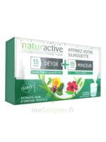 Naturactive Détox Stick Fluide 15 Sticks + Minceur Stick Fluide 15 Sticks à Moirans