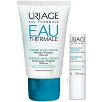 Uriage Eau Thermale Crème d'eau mains T/30ml+Stick lèvres à Moirans