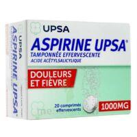 ASPIRINE UPSA TAMPONNEE EFFERVESCENTE 1000 mg, comprimé effervescent à Moirans