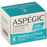 ASPEGIC ENFANTS 250, poudre pour solution buvable en sachet-dose à Moirans