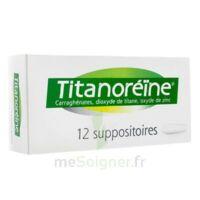 TITANOREINE Suppositoires B/12 à Moirans