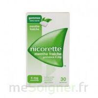 NICORETTE 4 mg Gom à mâcher médic sans sucre menthe fraîche Plq/30gom à Moirans