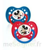 Dodie Disney sucettes silicone +18 mois Mickey Duo à Moirans