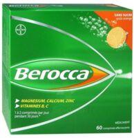Berocca Comprimés effervescents sans sucre T/60 à Moirans