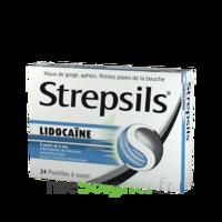 Strepsils Lidocaïne Pastilles Plq/24 à Moirans