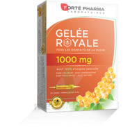 Forte Pharma Gelée royale 1000 mg Solution buvable 20 Ampoules/10ml à Moirans