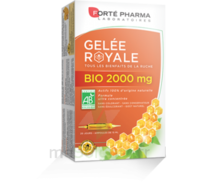 Forte Pharma Gelée royale bio 2000 mg Solution buvable 20 Ampoules/15ml à Moirans