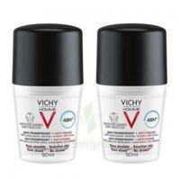 Vichy Homme Déodorant Anti-transpirant Anti Trace 48h 2*billes/50ml à Moirans