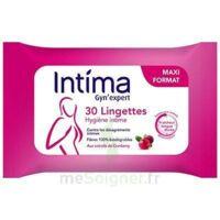 Intima Gyn'Expert Lingettes Cranberry Paquet/30 à Moirans