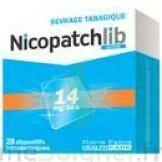 NICOPATCHLIB 14 mg/24 h Dispositifs transdermiques B/28 à Moirans