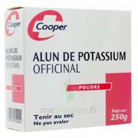 Cooper Alun Potassium Poudre B/250g à Moirans