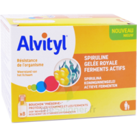 Alvityl Resist Solution Buvable 8 Fioles à Moirans