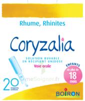 Boiron Coryzalia Solution Buvable Unidose B/20 à Moirans