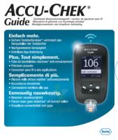 Accu-chek Guide Lecteur De Glycémie Mg/dl (seul) à Moirans