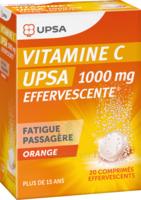 Vitamine C Upsa Effervescente 1000 Mg, Comprimé Effervescent à Moirans